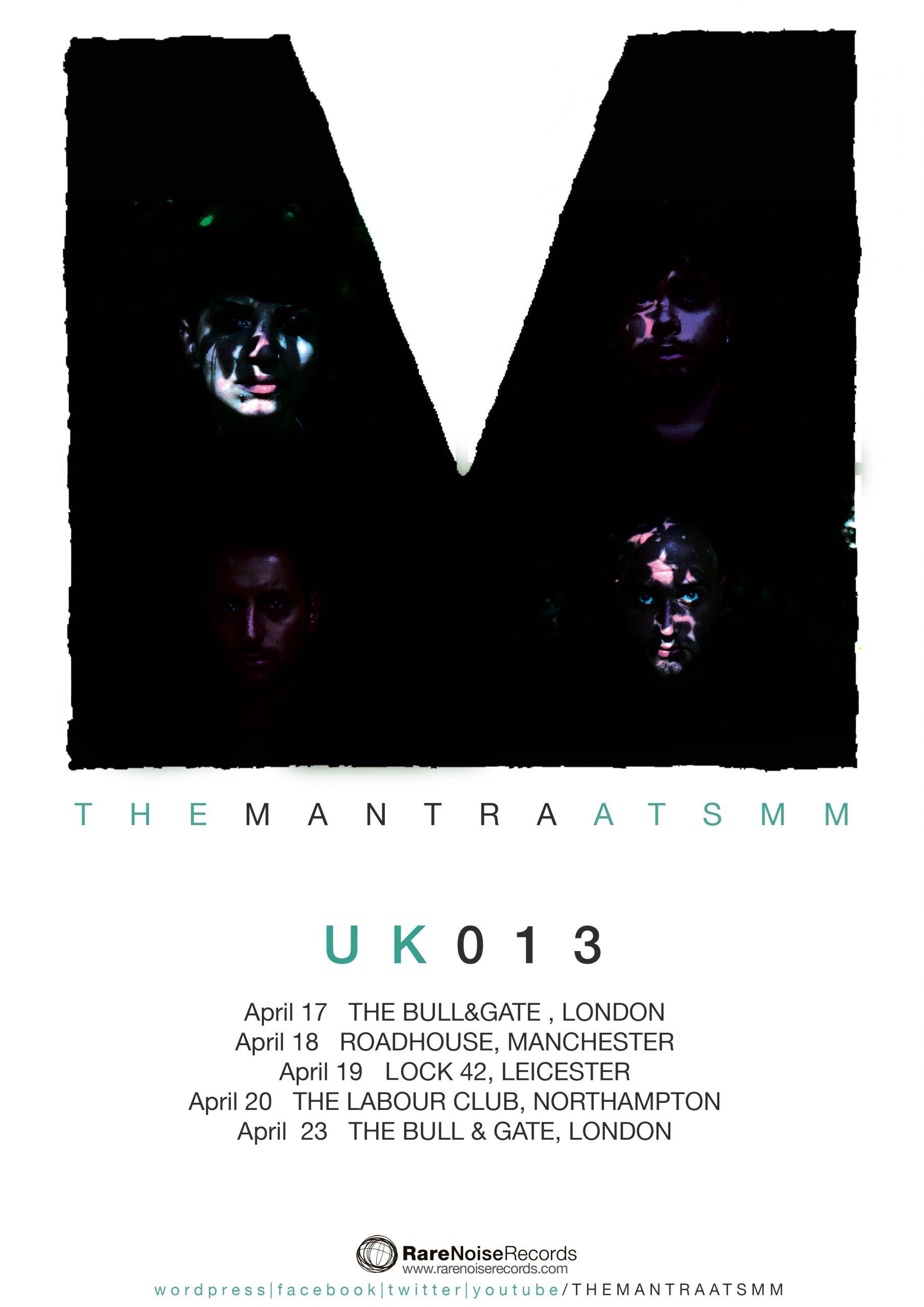 LIVE UPDATES: The Mantra ATSMM UK tour APRIL17 - APRIL 23 1