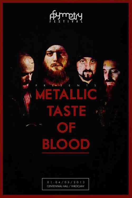 Metallic Taste Of Blood Live at Asymmetry 5.0 / Wroclaw / Poland - May 4th 2013 - 7pm 3