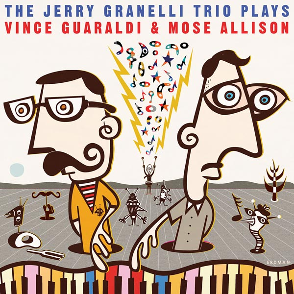 New Release June 2020: The Jerry Granelli Trio Plays Vince Guaraldi and Mose Allison 3
