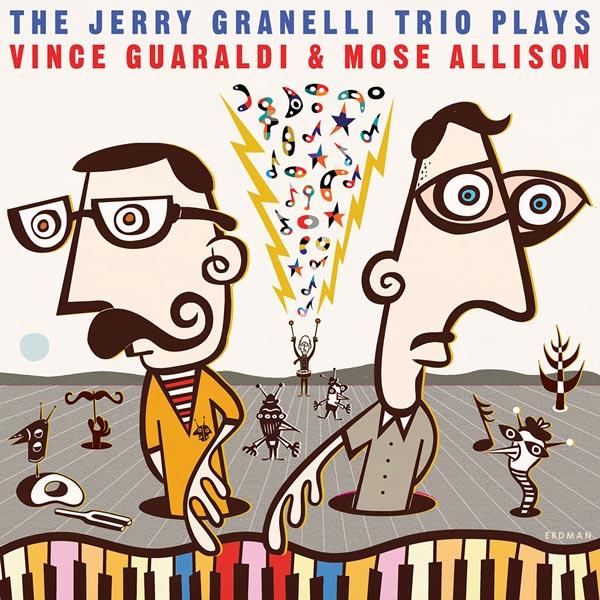 New Release June 2020: The Jerry Granelli Trio Plays Vince Guaraldi and Mose Allison 3