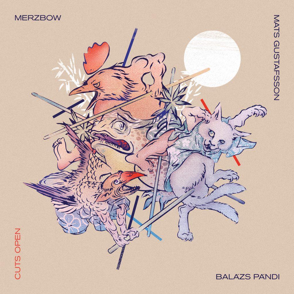 New Release September 2020: Merzbow, Mats Gustafsson and Balázs Pándi present Cuts Open 5