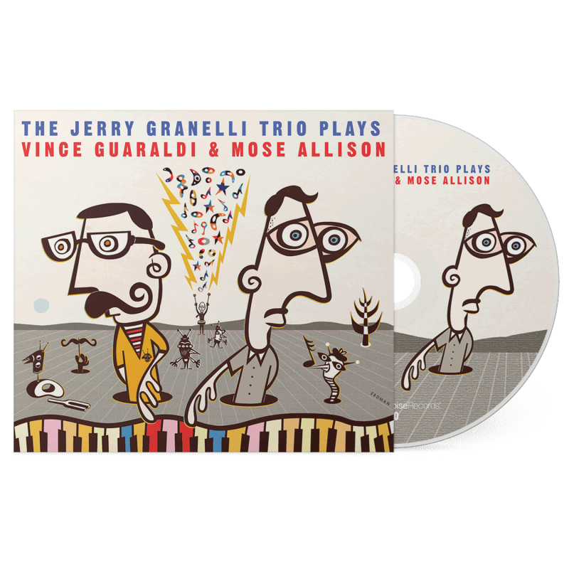 The Jerry Granelli Trio Plays Vince And Mose (CD) 2