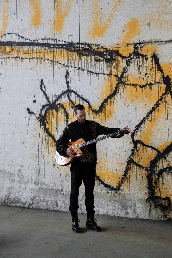 Jo Berger Myhre presents his solo album Unheimlich Manoeuvre 3