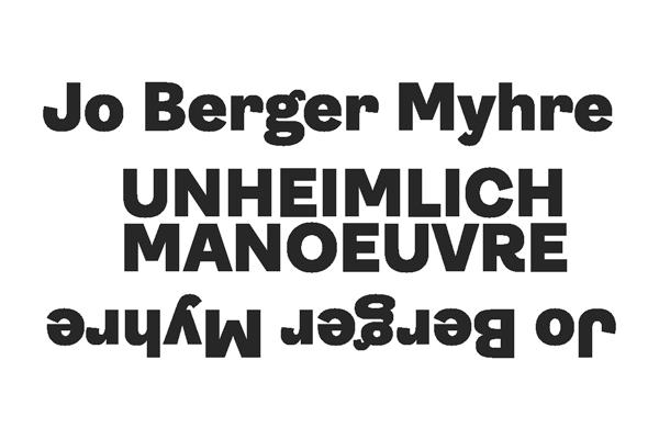 Jo Berger Myhre presents his solo album Unheimlich Manoeuvre 1